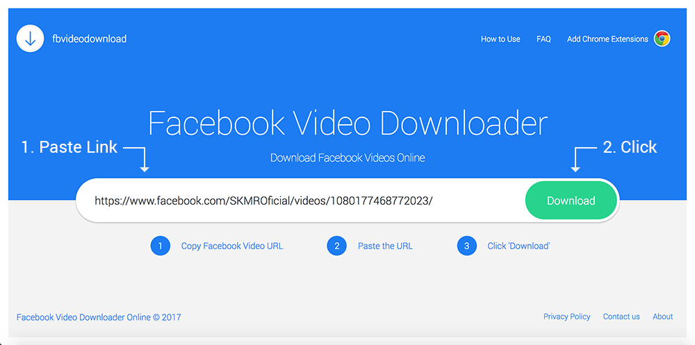 url video download chrome